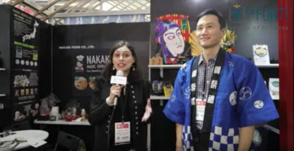 William Ho, Sales Manager, Nakaki Foods USA