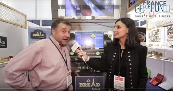 Benoit Herve, CEO and founder of Le Bread Xpress