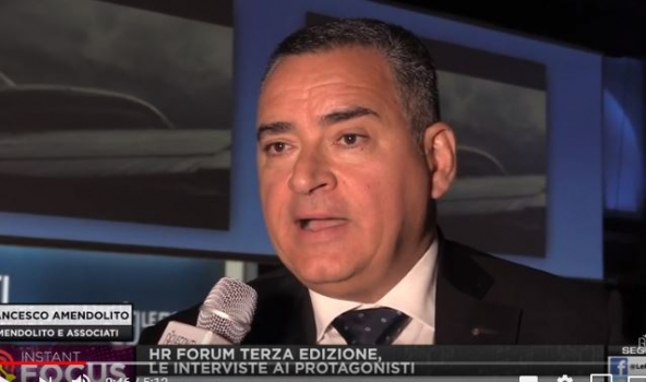 HR FORUM 2019 - INTERVISTA A FRANCESCO AMENDOLITO