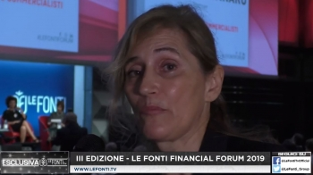 Le Fonti Financial Forum 2019 - Intervista a Paola Radaelli (Anra)