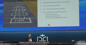 AI Forum 2019 - con Cristiano Boscato FROM ARTIFICIAL INTELLIGENCE TO COLLECTIVE INTELLIGENCE