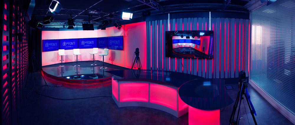 Studio televisivo - Le Fonti TV