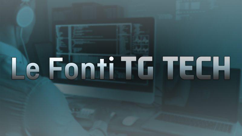 Le Fonti Tg Tech